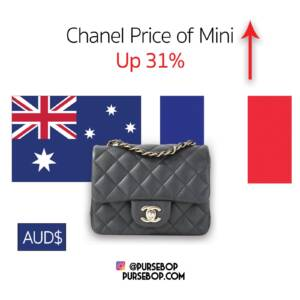 Chanel Prices in Australia 2020