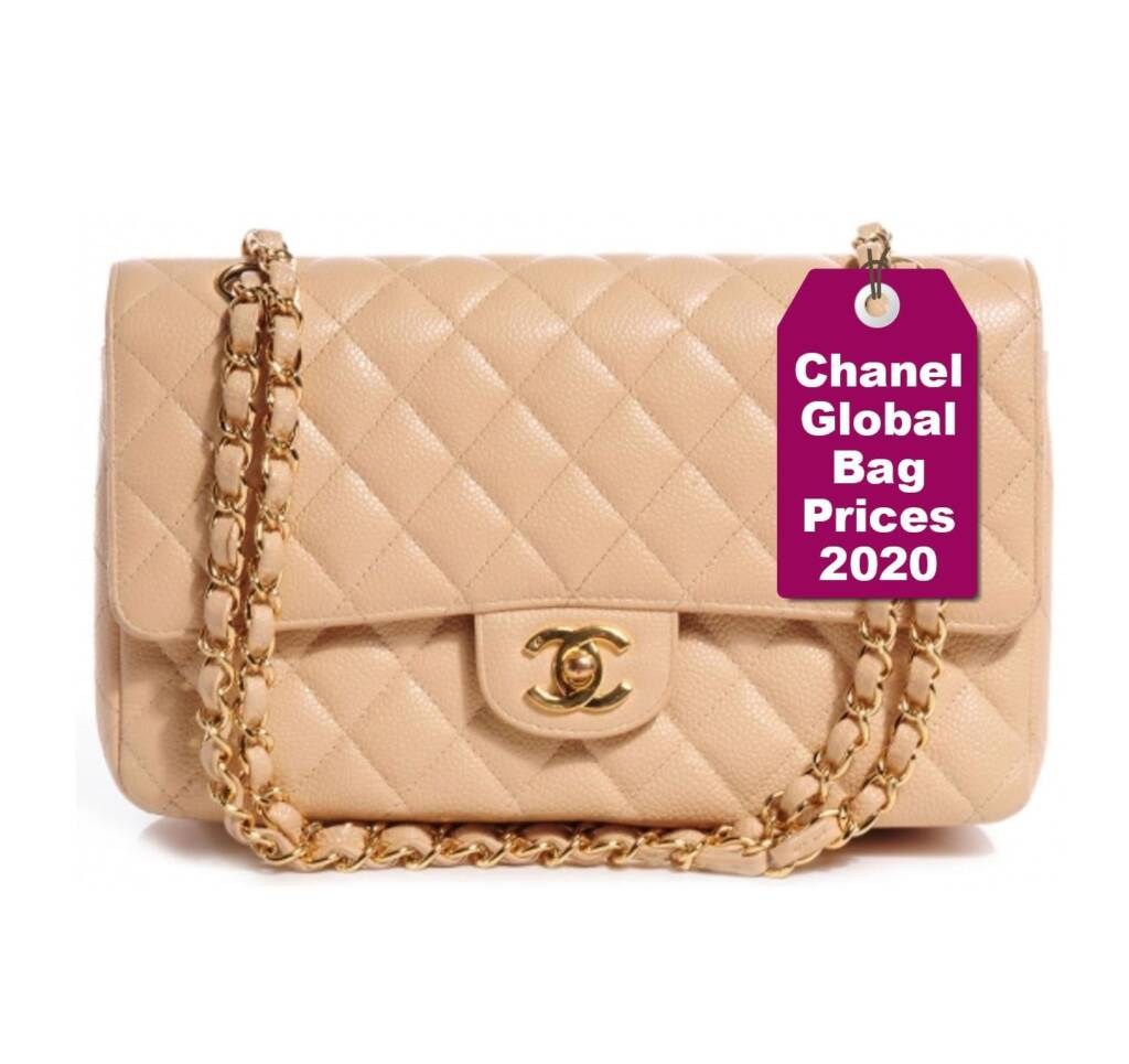 USA Chanel price increase 2020 chanel prices 2020 new chanel prices in the US Chanel globalization Chanel Classic Flap