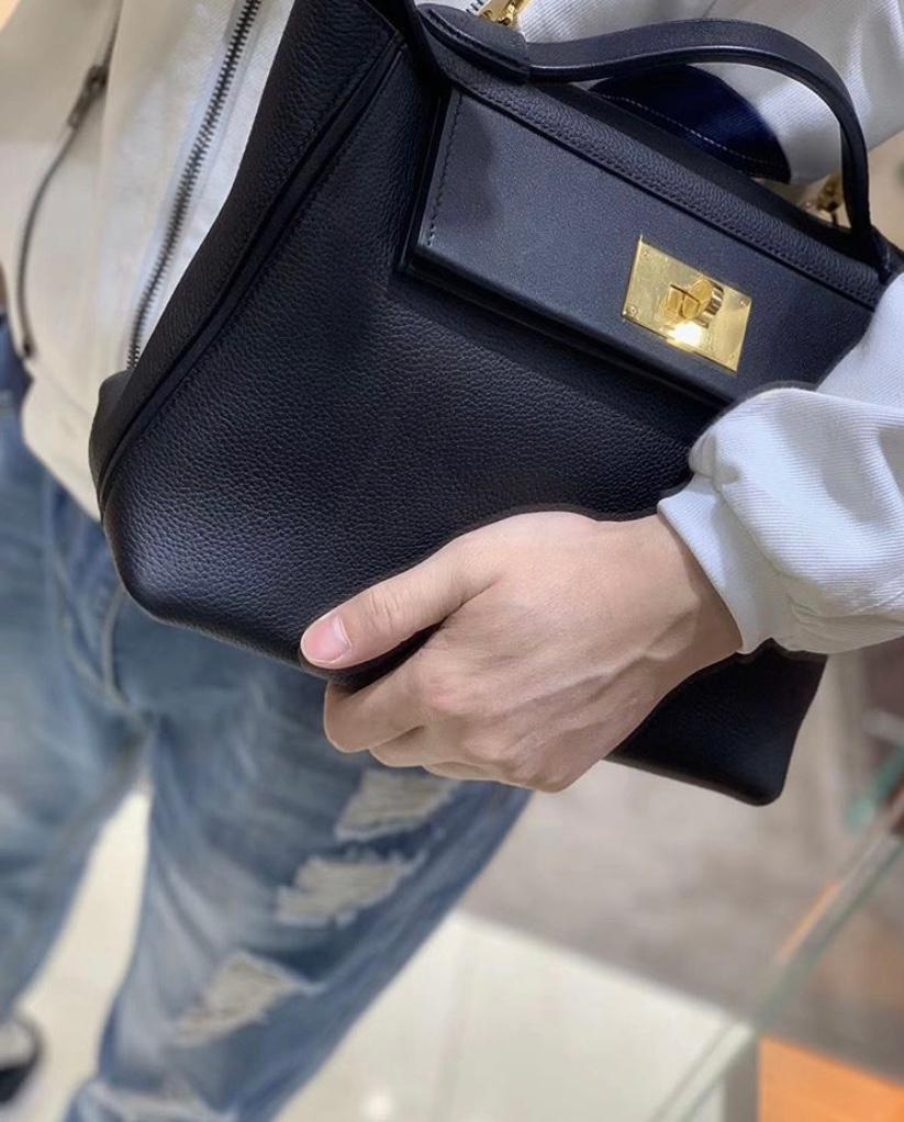 gender neutral hermès bag