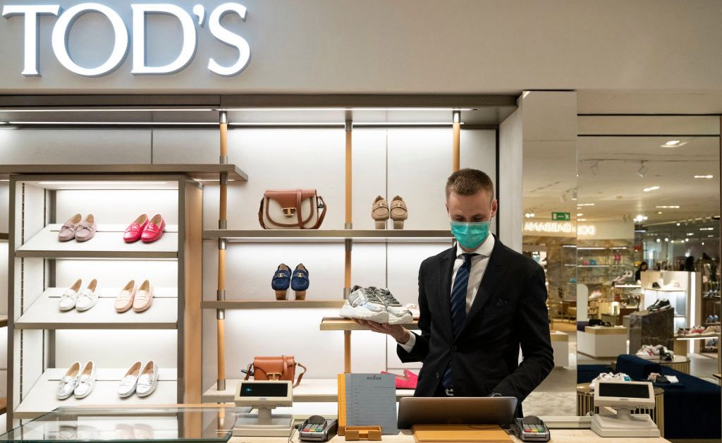 Luxury Retail Shopping During Covid