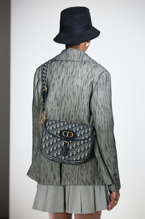 Dior oblique canvas bobby bag