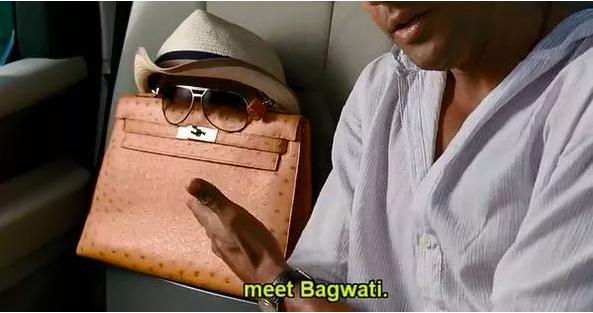 Hermès bags in movies