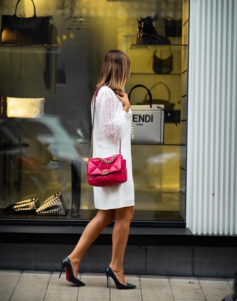 Chanel 19 shoulder strap