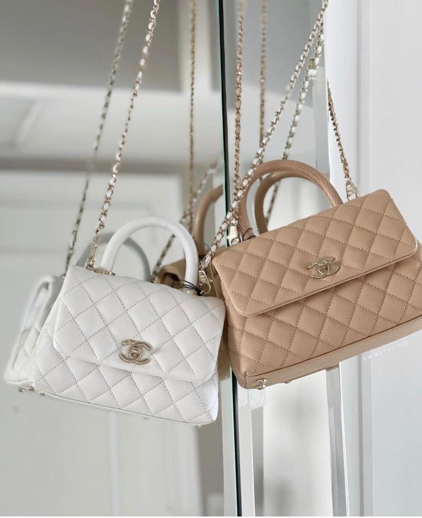 Chanel Coco Handle Sizes