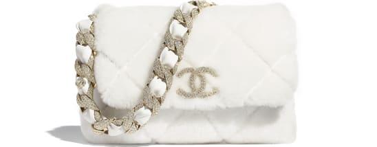Chanel Shearling Bag 2020