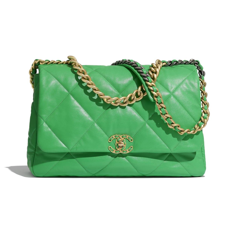 Green Chanel 19