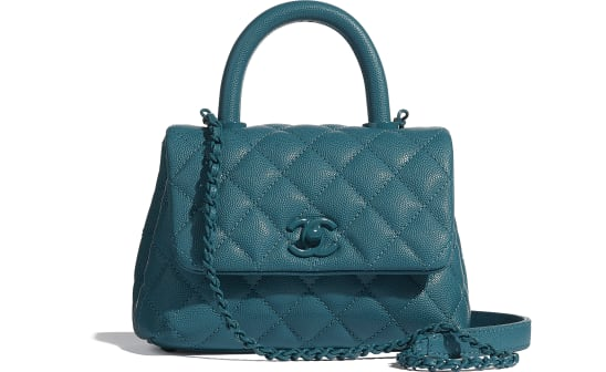 Turquoise Coco Handle Mini