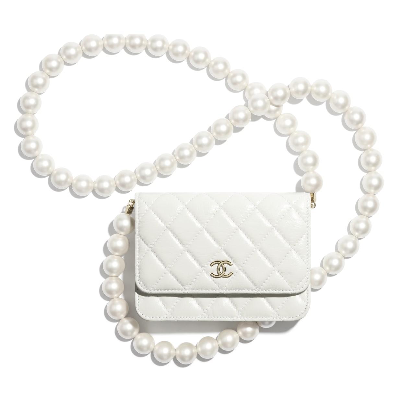 Mini Wallet on Pearl Chain