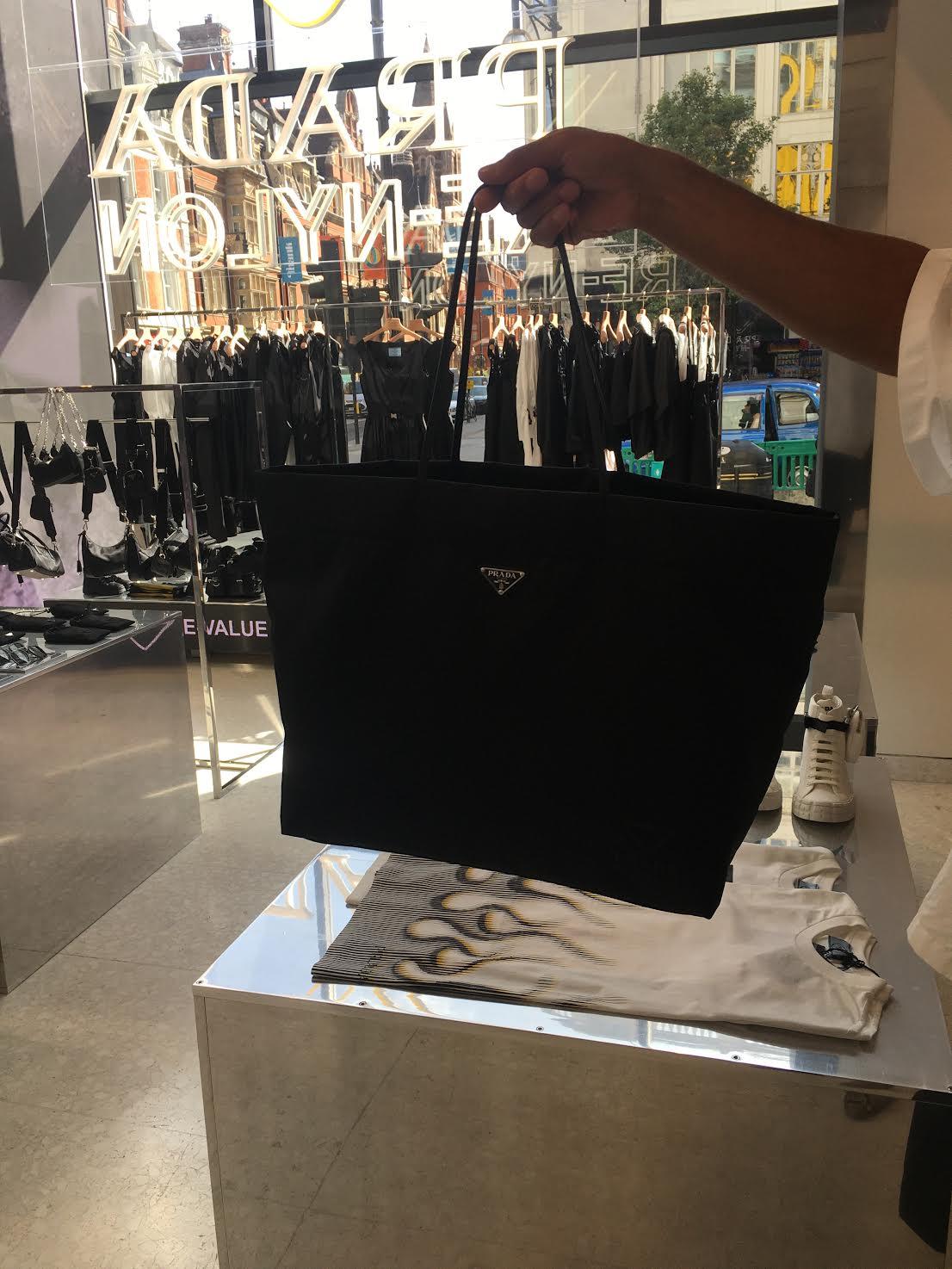 Prada Re-Nylon Collection Sustainable fashion
