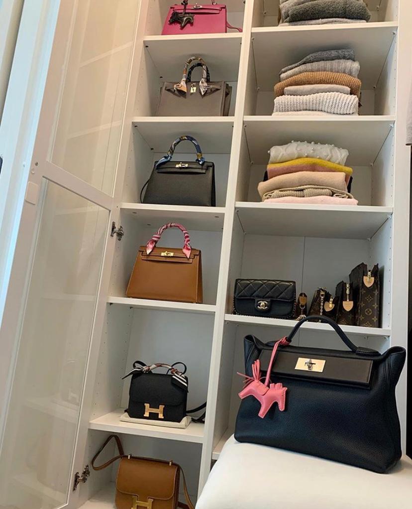 luxury handbag collection