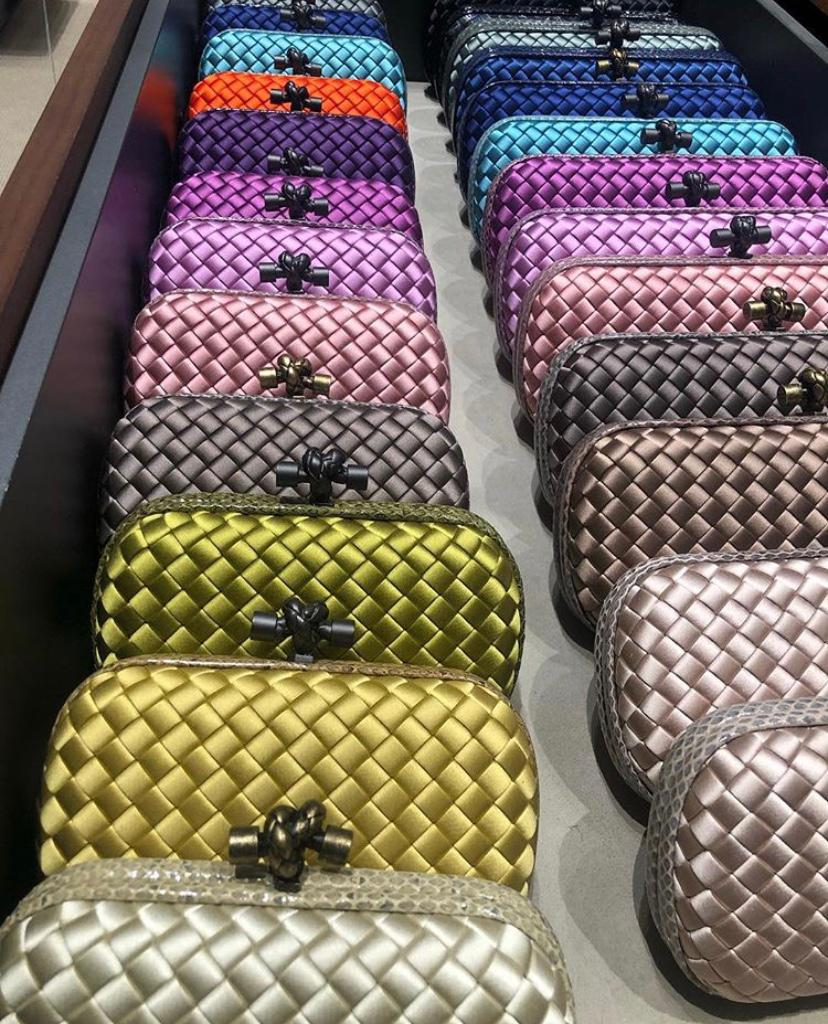 Understated and Iconic Bottega Bags