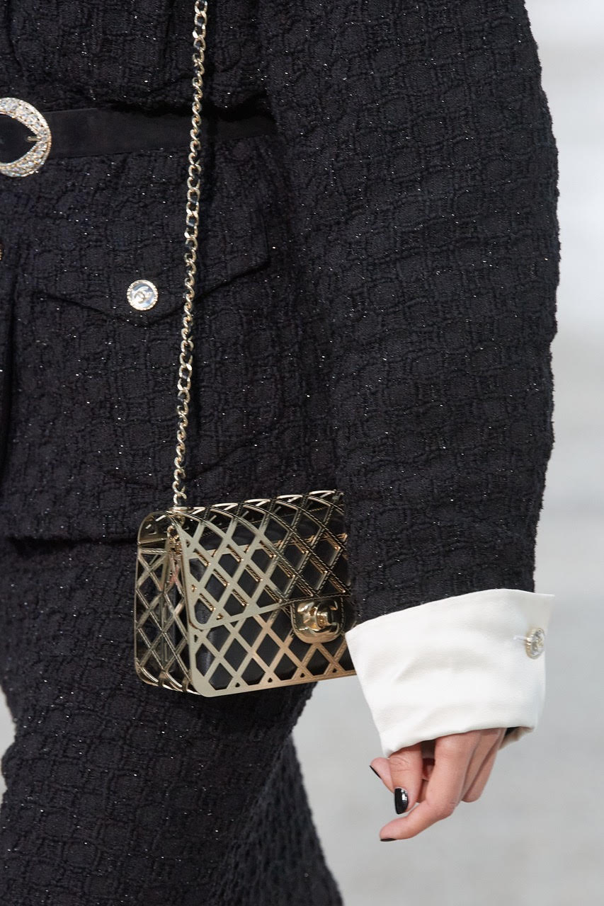 Metallic Chanel Flap Bag 2021