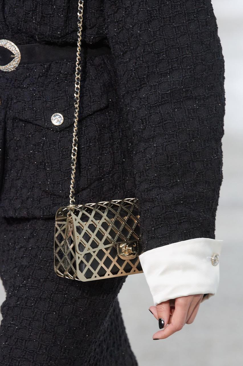 Metallic Chanel Flap Bag 2021