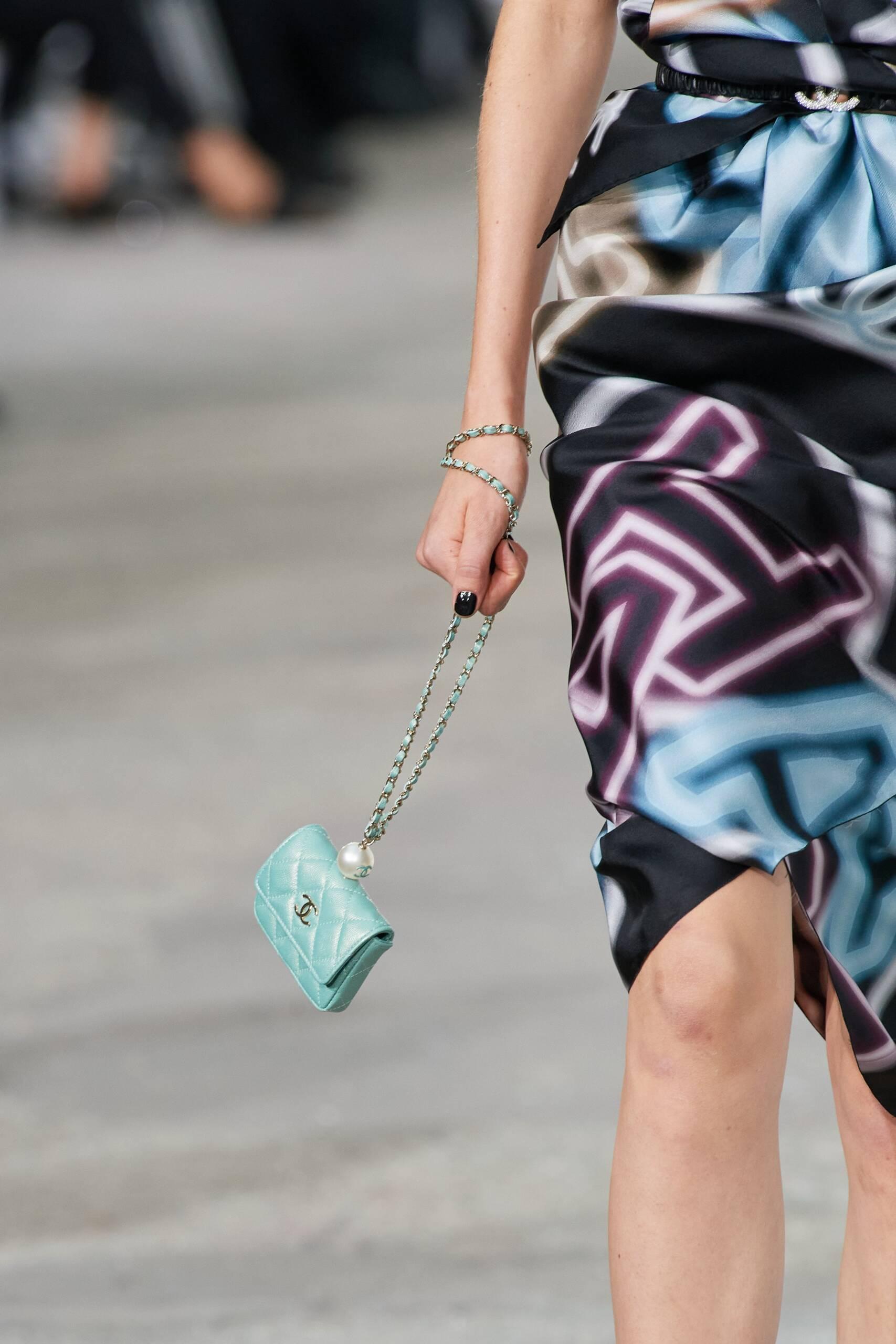 Single Pearl Chanel Bag Spring 2021