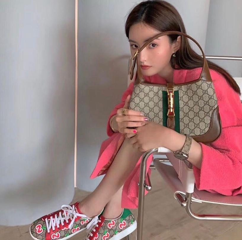 Gucci Canvas Jackie Bag