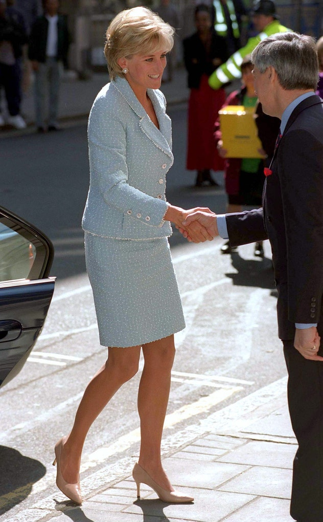 Lady Diana in Chanel