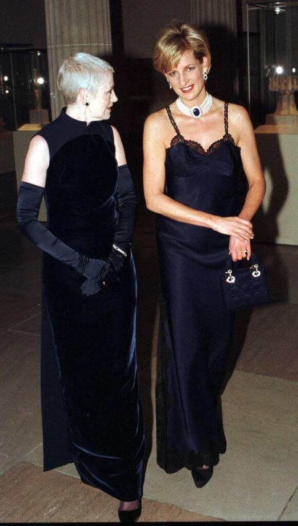 Lady Di with Dior
