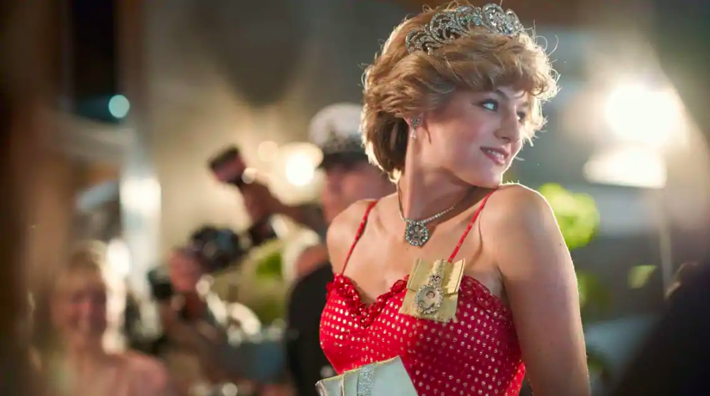 Emma Corrin as Lady Diana