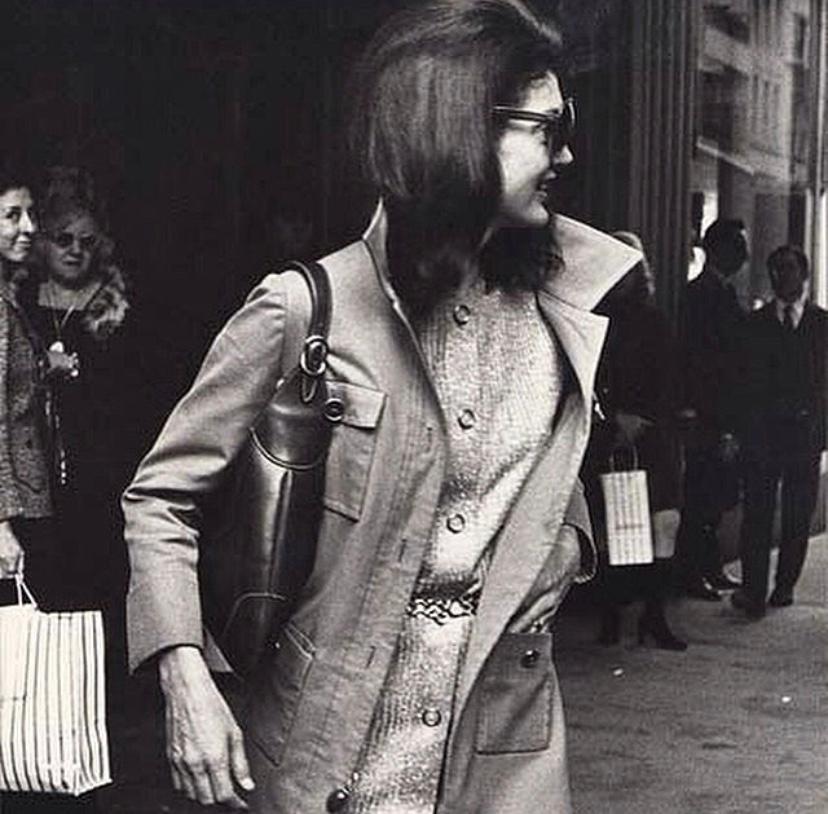 Jackie Kennedy with Gucci Jackie Bag