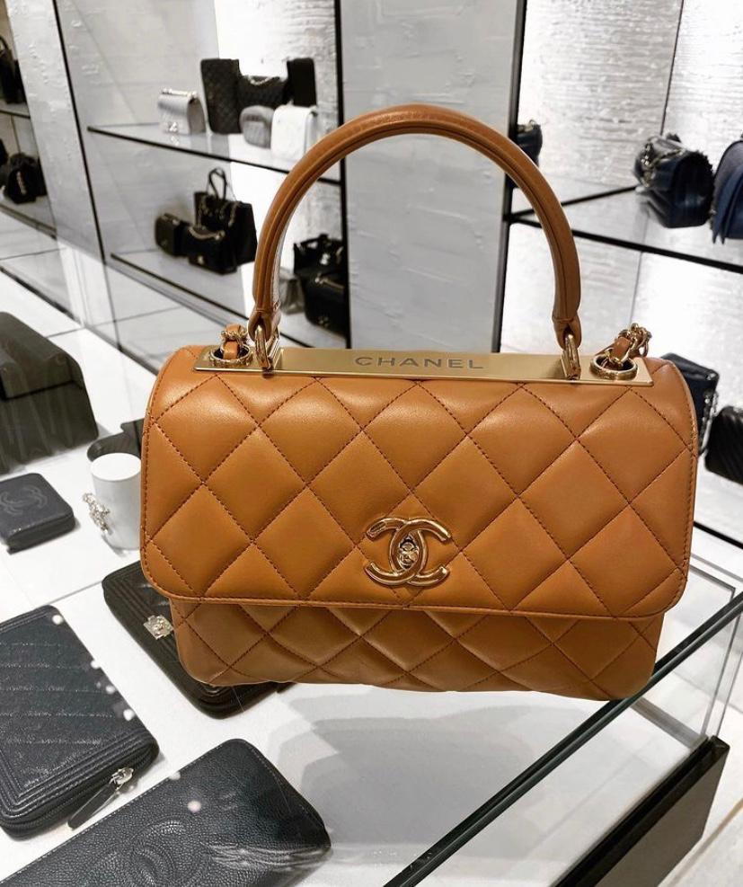 Trendy CC Handle Bag