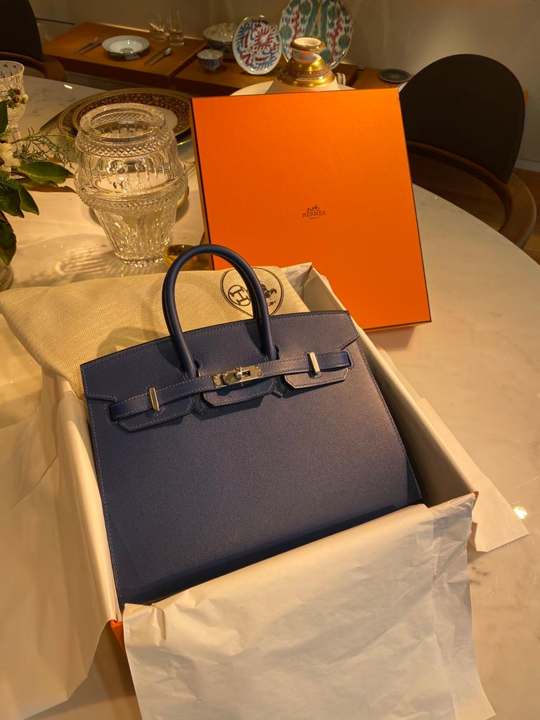 Unboxing Birkin Sellier