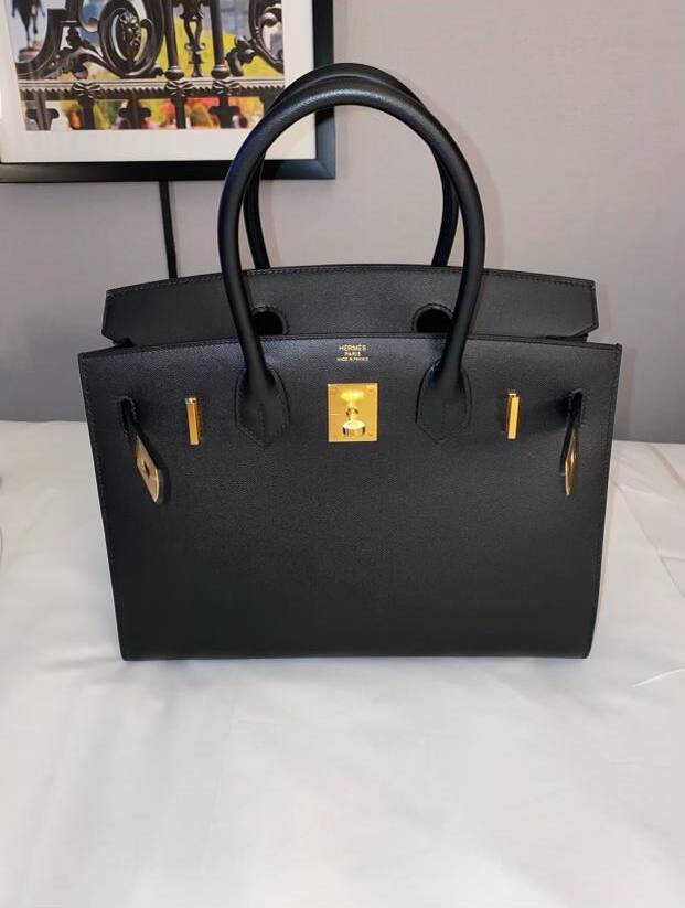 Black Birkin Sellier