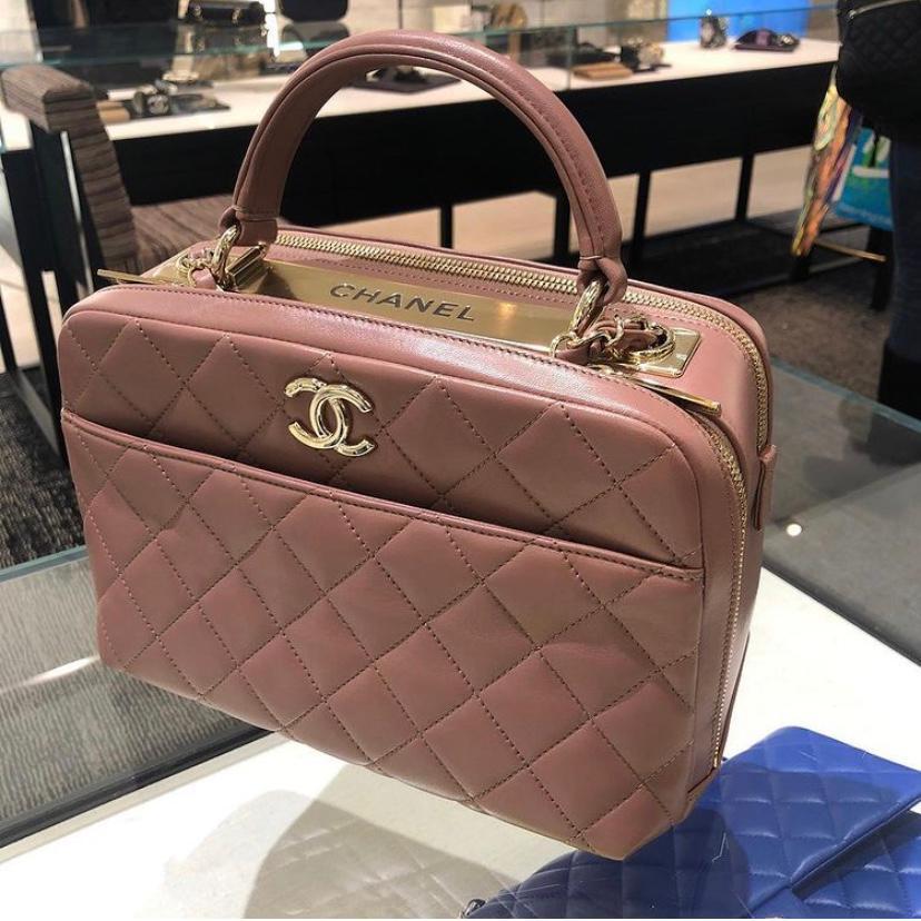 Pink Trendy CC Bag