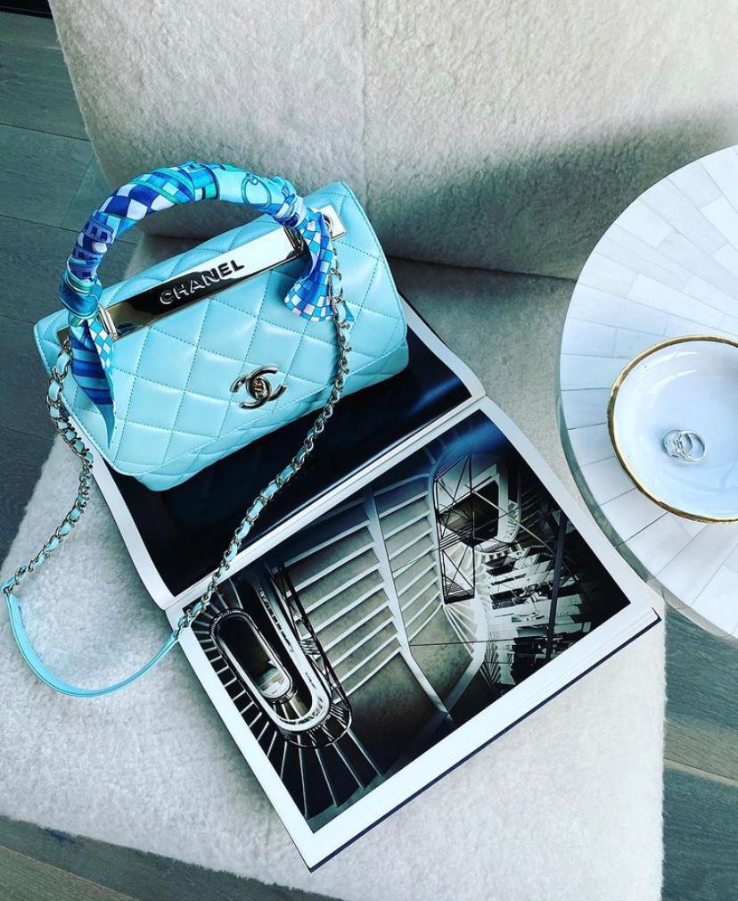 Blue Trendy CC Bag