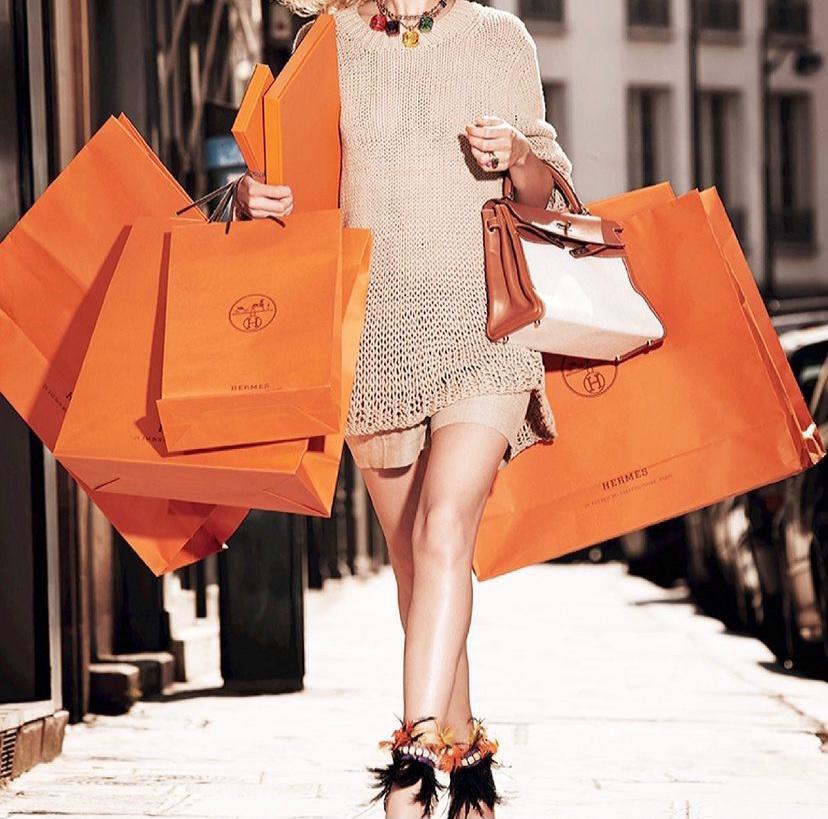 Hermès shopping