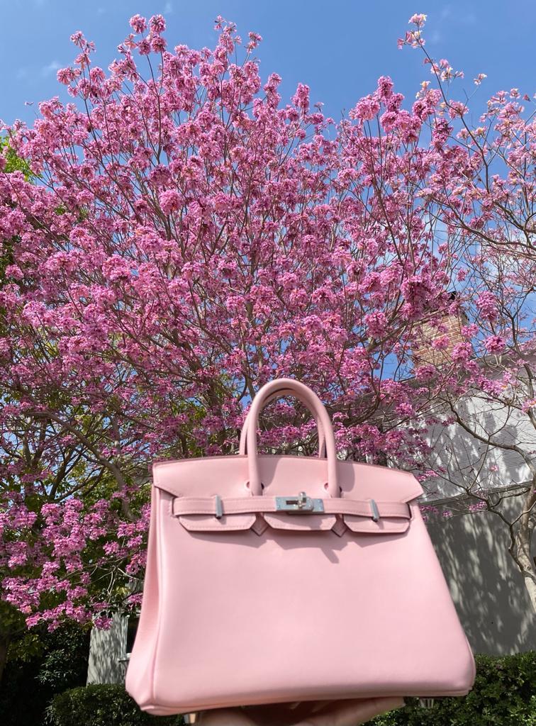 Hermes Birkin Rose Sakura