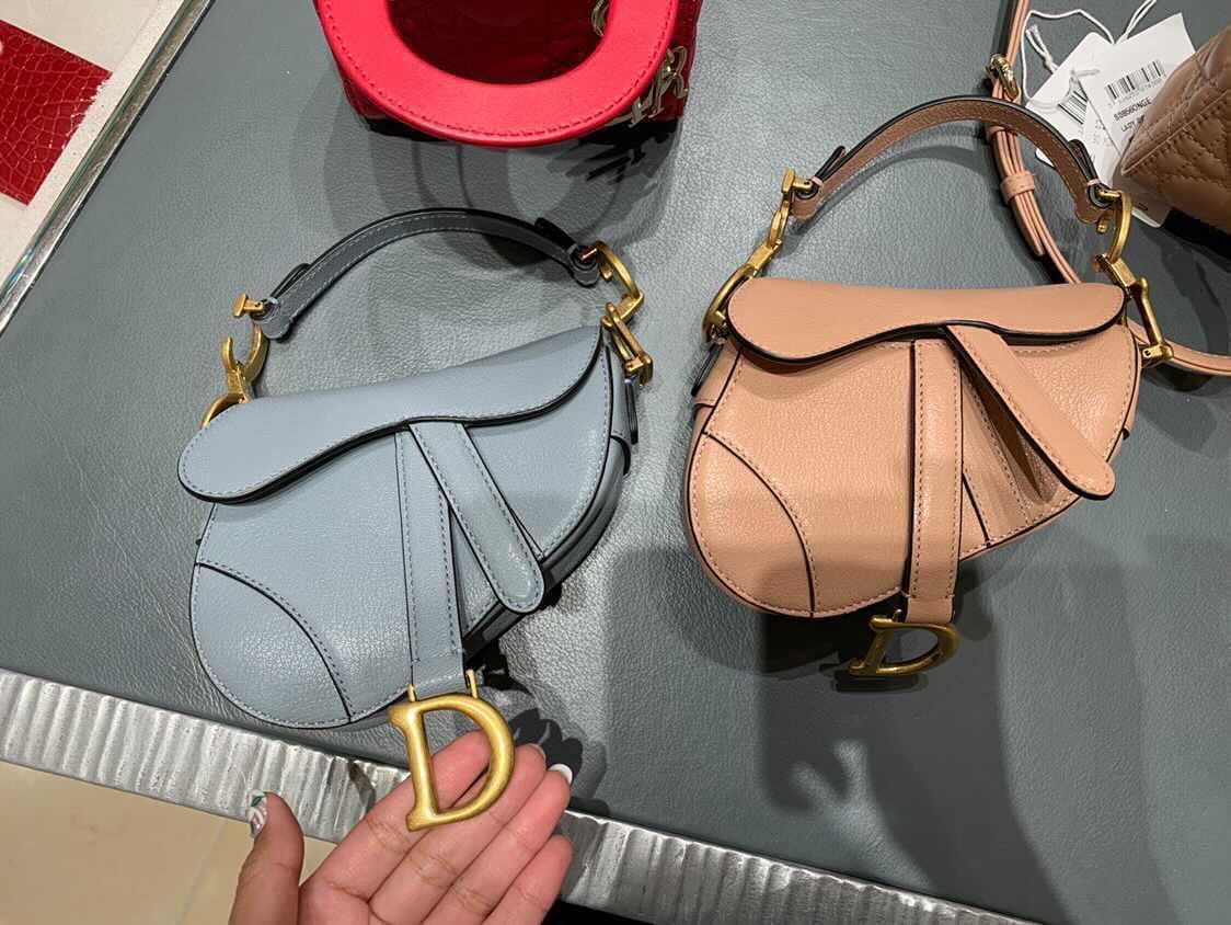 Dior Micro saddle bags
